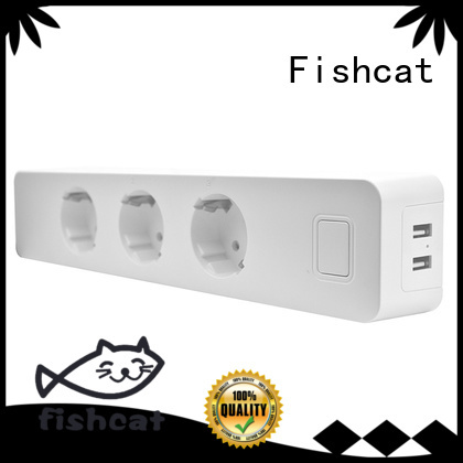 Fishcat different countries standard for option wifi remote socket widely used for smart home