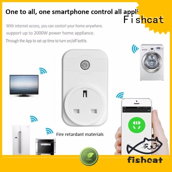 Fishcat reliable smart socket adapter very useful for smart home